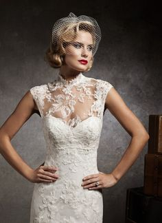 Another Justin Alexander favorite! This comes with a lace and tulle overlay jacket! STUNNING!!!