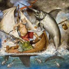 Le vieillard et la mer (The old man and the sea)   ~  Daron Mouradian