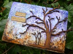 Calico Craft Parts: Winter Branches ATC - by Alison