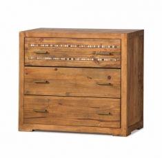 Commodes en Bois : Collection MOSAIC 3 tiroirs