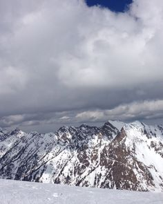 Always fun to be up on Baldy when it's beautiful and be able to watch the next storm roll in.
