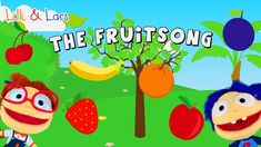 FRUIT SONG for children with lyrics - original nursery rhymes songs
