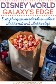 If you are visiting Disney World's Galaxy's Edge, then you need this awesome list from Ziggy Knows Disney! We tell you the foods you shouldn't miss and what you can skip. Don't forget to look over these tips before you go on your family vacation! Disney World Secrets, Disney World Food, Disney World Restaurants, Disney World Florida, Disney World Planning, Disney World Tips And Tricks, Disney World Outfits, Best Disney Park, Disney Fun
