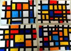 5o - 7o ΝΗΠΙΑΓΩΓΕΙΑ ΤΥΡΝΑΒΟΥ: Χρώματα - σχήματα- γραμμές .......συνέχεια