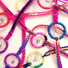 Dreamcatcher bracelets #ohsohip