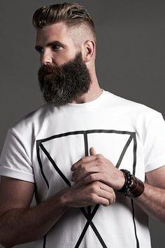 Cute Short and Full Beard Styles for Men (15)