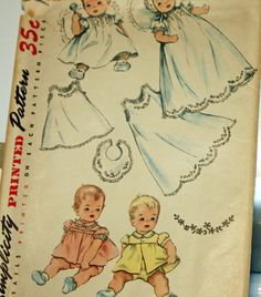 Vintage pattern 1950s Sewing Pattern Simplicity 4904