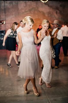 Dancing queen: http://www.stylemepretty.com/2015/09/08/ways-to-involve-friends-in-your-wedding/