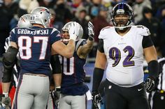 Ravens vs. Patriots: Divisional Playoffs