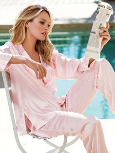 Candice Swanepoel Sexy Lingerie Frm Bd: Fashion: Intimates, Lingerie, S. Pyjamas, Satin Pajamas, Pajamas All Day, Pajamas Women, Cozy Pajamas, Pijamas Victoria Secret, Women Lingerie, Sexy Lingerie, Victoria's Secret