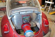Planning 1969 VW Bug conversion (the Plug Bug) - DIY Electric Car Forums Diy Electric Car, Electric Vehicle, Nissan Suvs, Electric Transportation, Volkswagen, Electric Car Conversion, E Motor, Beach Buggy, Vw Beetles