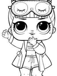 lol doll coloring pages leading baby lol dolls