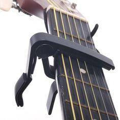 アルミニウム金属エレキギター低音ウクレレトリガー合金カポチューニングキークランプギターパーツ