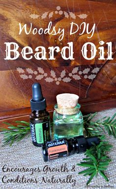 In honor of Movember, this Woodsy DIY Beard Oil promotes beard growth & conditions naturally. DoTERRA Rosemary Essential Oil encourages growth, while keeping beards soft & manageable.