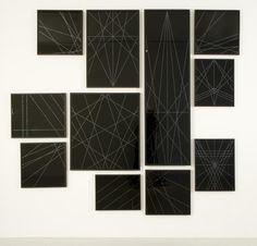 Black Glitter,   2007. Marc Swanson.