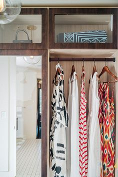 How to organize your closet.