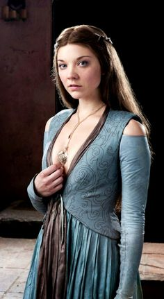 Margaery Tyrell ~ Stunning, cunning & clever! Love the raunchiness of her costumes. Some barely seem to be held on by a thread. #GoT #Costumes #Gameofthronescostume