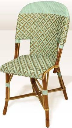 Elegant Phoebe Howard Blog: Chaises Tradition 06 Auteuil Love French Bistro Chairs