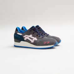 #Asics Gel-Lyte III (Grey/White) #sneakers