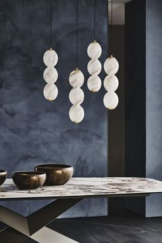 Suspended Lighting, Furniture Dining Table, Wall Lights, Ceiling Lights, Ceiling Lamp, Decoration, Lighting Design, Chrome, Plates