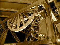 Elevator mechanisms - inside the Tour Eiffel