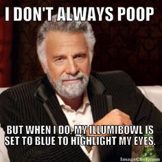 The world's most interesting man knows how to accentuate his eye color.