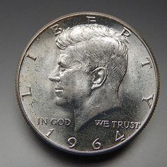 1964 Us Mint Collectible Kennedy Half Dollar Silver Coin – Gold Stream Boutique