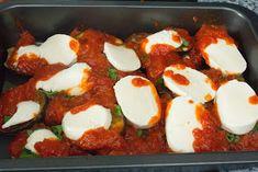 El Baúl de las delicias: Berenjenas al a napolitana Caprese Salad, Mousse, Breakfast, Recipes, Ideas, Food, Baked Vegetables, Kitchen Stuff, Pain Au Chocolat
