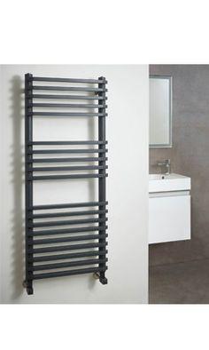 Phoenix Diana Vertical Designer Electric Heated Towel Rail Electric Radiators, Heated Towel Rail, Phoenix, Blinds, Diana, Bathrooms, Curtains, Design, Home Decor
