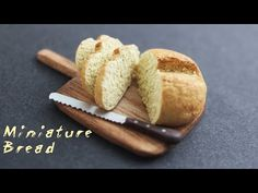 Realistic Miniature Bread - Polymer Clay Tutorial - YouTube