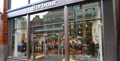 Barbour store in Covent Garden