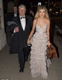 Georgia Toffolo at ball with I'm A Celeb's Stanley Johnson | Daily Mail Online