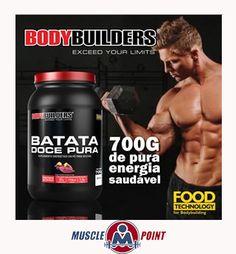 A Batata Doce Pura é um suplemento alimentar destinado para pessoas que desejam energia extrema para os seus treinos. #MusclePoint #BatataDoce #SuplementoAlimentar #Energia #Bodybuilders