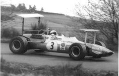 Jackie Stewart - Matra F2 with Wings
