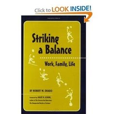 Economist and work/life expert Robert Drago constructs a unique vision of the meaning of balance, unmasking the real reasons most Americans lead unbalanced lives. work-life-flex-reading-list