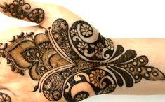 2016 New Pakistani Henna Mehendi Full Hand Step By Step:Creative Intrica...