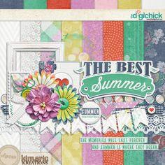 Kimeric's newsletter summer memories kit