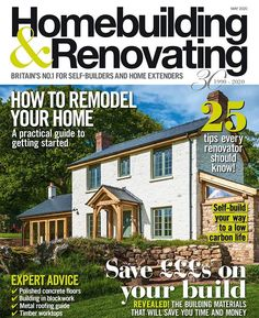 Homebuilding & Renovating's new issue is out now! If you're anything like the team right now juggling kids trying to motivate yourself at your dining table-cum-home office or just feeling squeezed into too few rooms a couple of ideas for improving the layout of a house won't go amiss! From design ideas for loft conversions and an architect's view on how to plan high ceilings to a beginner's guide to remodeling a house our May issue can help you make the most of your time daydreaming about the pe
