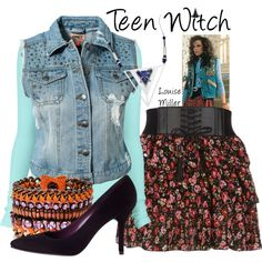 Inspired by the movie Teen Witch 80s Costume, Cute Halloween Costumes, Halloween Ideas, Halloween Party, Teen Witch Movie, Fashion Tv, Fashion Styles, Colourful Outfits, Spring Outfits