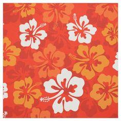 Tropical Hawaiian Hibiscus floral pattern Fabric | Zazzle.com Fabric Patterns, Flower Patterns, Print Patterns, Tropical Fabric, Tropical Flowers, Peaceful Backgrounds, Print Wallpaper, Flower Wallpaper, Iphone Wallpaper