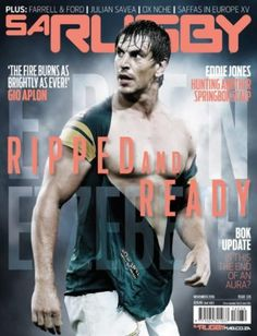 21 October 2016 — the best magazine covers this week — SA Rugby, November Eben Etzebeth. Cool Magazine, Magazine Covers, 2019 Rwc, Eben Etzebeth, Hot Men, Hot Guys, Scrapbook Photos, Beefy Men, The New Yorker