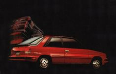 1984 Renault Encore.  The first new car Ellen and I bought.