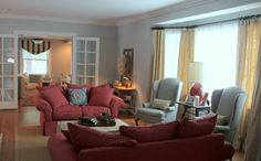 I think this is going to be my next Family Room color- stonington gray by Benjamin Moore