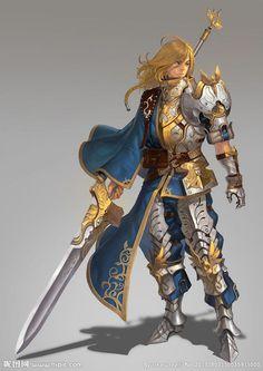 Blonde warrior :O