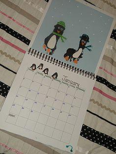 Handprint Calendar