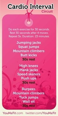 Cardio Interval Workout