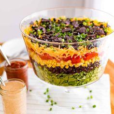 7 Layer Taco Salad