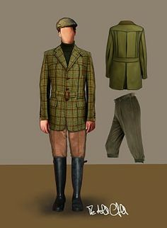 """Norfolk Jacket and knickerbockers 