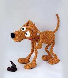 Doug the dog amigurumi pattern by IlDikko