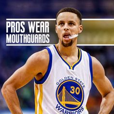 Dentaltown - Professional basketball players like Stephen Curry wear mouthguards they're on the court. Are you protecting your smile when you play ball? Kids Dentist, Pediatric Dentist, Fsu Basketball, Basketball Players, Dental Health Month, Oral Health, Orthodontics Marketing, Smile Dental, Contact Sport